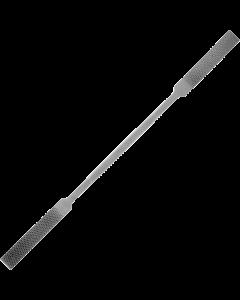 Rifloir râpe piquée fine - Plate